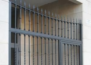 puertas de forja